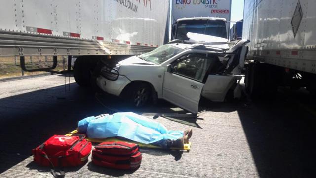 Policía Federal, Capufe, autopista, Puebla-Orizaba, Amozoc, Veracruz, choque, accidente, muerto, lesionado, tráfico