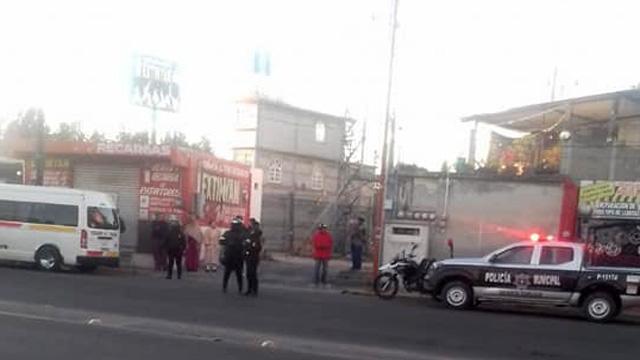 San Martín Texmelucan, Hospital Integral, lesionada, balazos, ataque, incidente vial, San Damián, Puente Rojo, lesionada, Policía Municipal, paramédicos