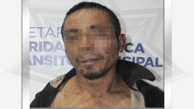 Policía Municipal, SSPTM, detenido, robo a comercio, Oxxo, La Calera, Ministerio Público, drogas, cuenta del día, botella de licor