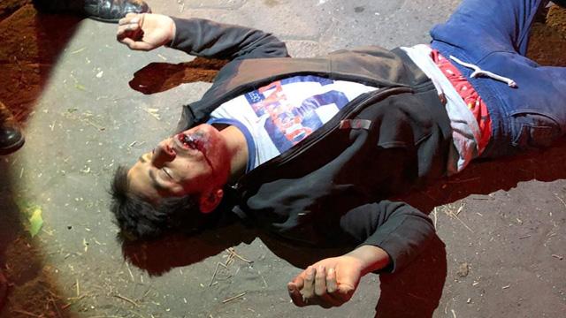 San Martín Texmelucan, Hospital Integral, detenido, robo de vehículo, golpiza, intento de linchamiento, colonia Álvaro Obregón, Policía Municipal, lesionado