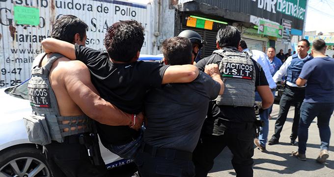 Christian, El Grillo, Mercado Morelos, audiencia, armas de fuego, drogas, cómplices, Cereso de San Miguel, Casa de Justicia