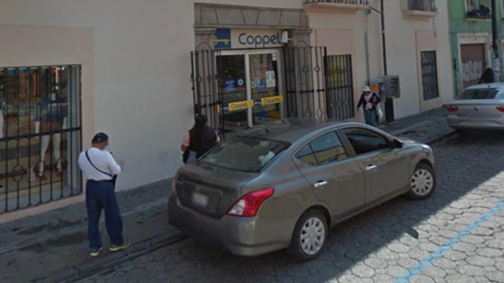 asalto, Coppel, Centro Histórico, Policía Municipal, botín