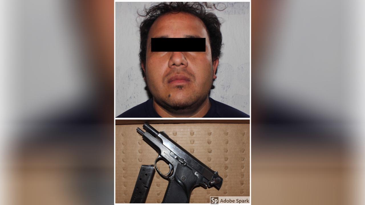 Policía Municipal, K9, Bosques de Manzanilla, detenido, arma de fuego, persecución
