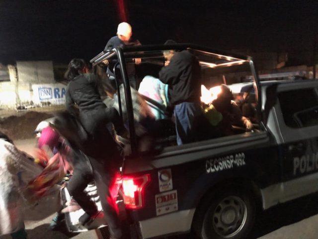 Amozoc, evacuación, toma clandestina, Pemex, gas LP