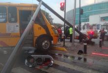 Choque, daños materiales, FGE, Bulevar 5 de Mayo, ruta 10 Rojos, lluvias, Tránsito Municipal, RUTA