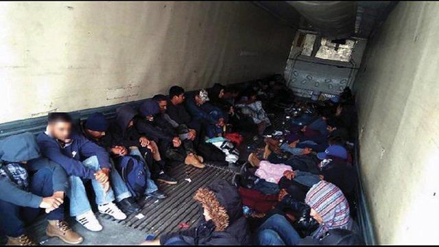 Instituto Nacional de Migración, Fiscalía General de la República, Indocumentados, Detenidos, Cuautlancingo, Acajete, Tepetzala, Guatemala, Honduras, Nicaragua