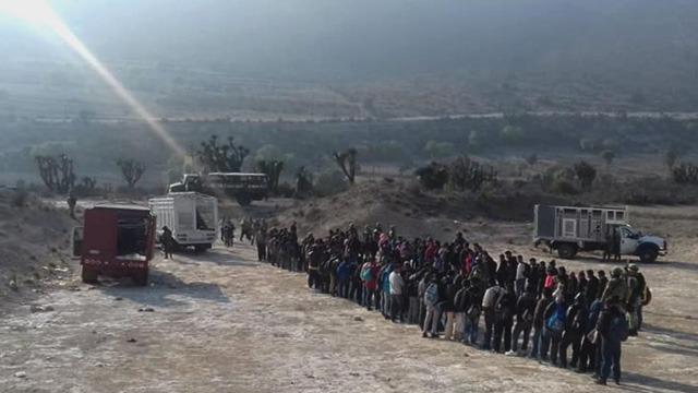 Indocumentados, Instituto Nacional de Migración, Fiscalía General de la República, Policía Municipal, Nicolás Bravo, Ejército Mexicano, Azumbilla
