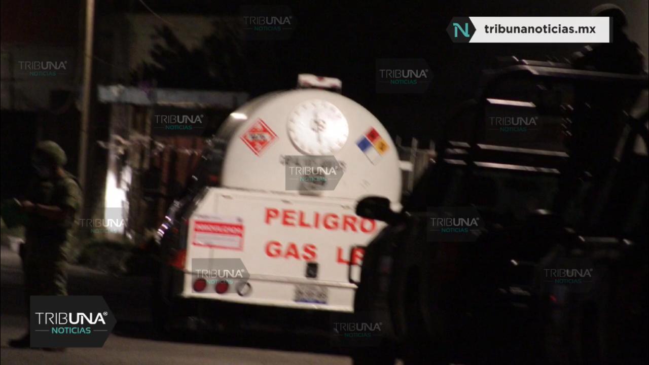 Operativo, SEDENA, Policía Federal, Gendarmería, Xonacatepec, Joaquín Colombres, Gas LP, Robo de combustible, Huachigaseros, Calle Lázaro Cárdenas, Puebla
