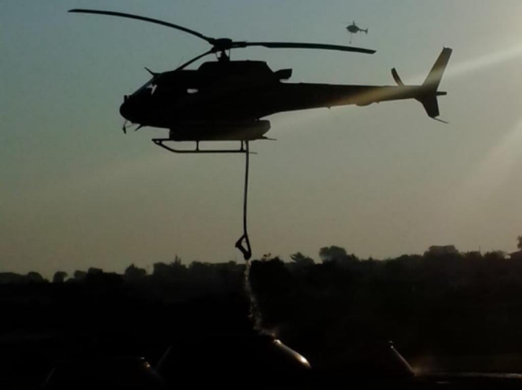 Incendio forestal, Cerro El Pinal, Protección Civil, Conafor, Voluntarios, Tepetzala, Nopalucan, Helicópteros, Gobierno del Estado, Miércoles