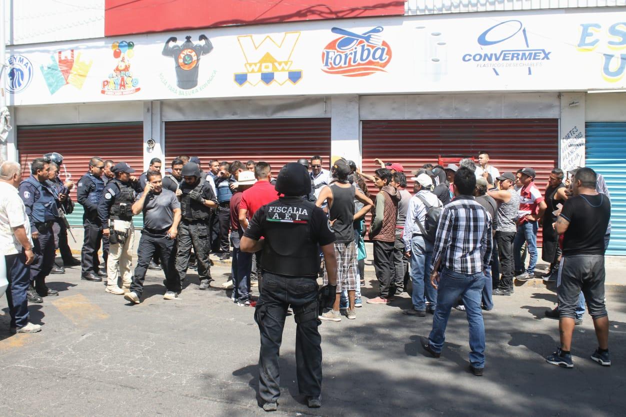 Mercado Morelos, linchamiento, protocolo, Policía Municipal, Secretaría de Seguridad Ciudadana Municipal, 10 de Mayo, robo, oficinas