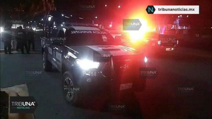 Apuñalado, Policía Municipal, Tehuacán, Presuntos delincuentes, Cuchillo, lesionado, Hospital, Ministerio Público, Transporte Público