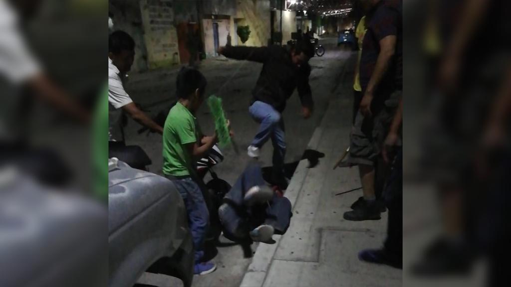 Golpiza, ladrón, arma blanca, Señora, Tercera edad, San Martín Texmelucan, Policía Municipal, Comandancia de Texmelucan