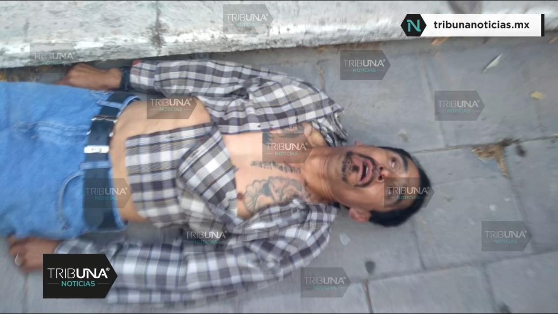 Linchamiento, quemado en vida, muerto, golpeado, Robo de camioneta, Tepeaca, Santa María Oxtotipan, Policía Estatal, Policía Municipal, José Claudio
