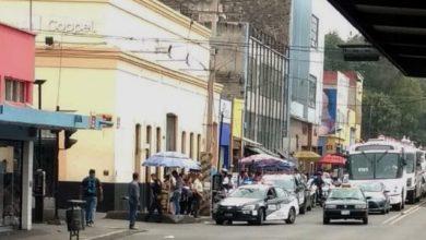 Robo, Coppel, Teléfonos celulares, Joyería, Policía Municipal, Calle 11 Norte, Calle 6 Poniente, Armas, Amagar, Motocicletas, Fuga
