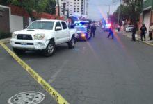 baleado, incidente vial, ataque directo, La Noria