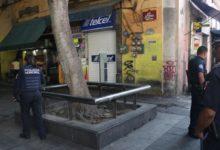 asalto, robo a comercio, telefonía, accesorios, Centro de Puebla, Policía Municipal, agraviada, Policía Municipal, denuncia