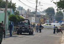 El Azteca, ejecutado, narcomenudeo, ajuste de cuentas, Atlixco, colonia Revolución, Ejército Mexicano, Policía Municipal