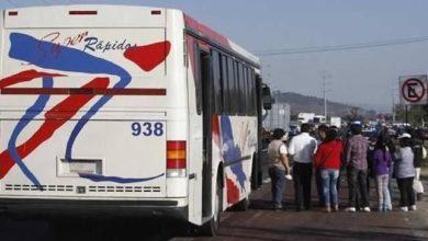 Balazos, México-Puebla, San Miguel Xoxtla, Asalto, Robo a transporte público, Policía Federal, Policía Municipal, Recorridos, Huída