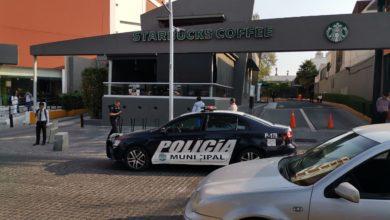 Cliente, cafetería, Starbucks, arma de fuego, riña, herido, Avenida Juárez, Policía Municipal, Paramédicos, ambulancia, hospital, disparos, compras, agresor, gorra