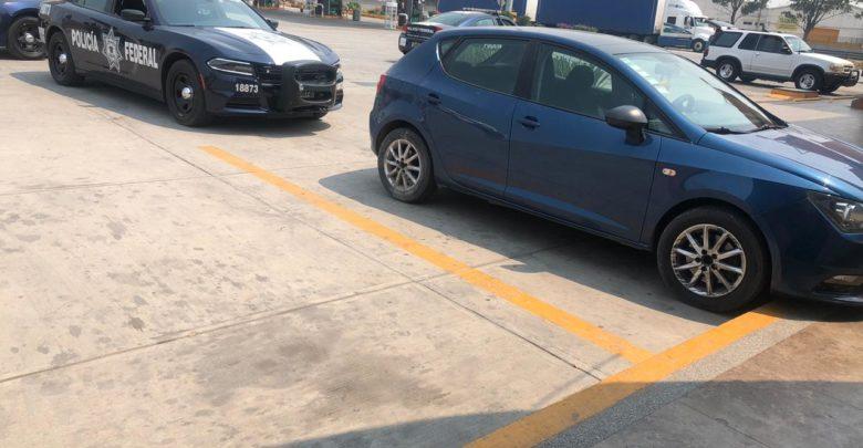 Coronango, Robo de vehículo, autopista México-Puebla, gasolinera, sanitarios, Seat, Ibiza, armas de fuego, cartuchos, José de Jesús Ansaldo Pichardo, Policía Federal