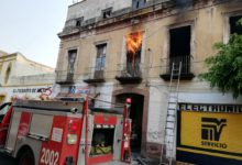 Incendio, vecindad, recolección de materiales reciclables, daños materiales, Bomberos, Centro Histórico, Protección Civil Municipal, Remoción de escombros