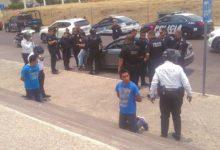 Movilización policiaca, Estrella de Puebla, estudiantes, ladrones, automóvil, jetta, asalto, persecución, bulevard, jóvenes, Policía Estatal y Municipal, robo, libertad