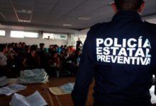 indocumentados, SSP, Policía Estatal, Acajete, detenidos, INM