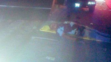 Homicidio, ataque, camioneta, sujetos armados, armas de fuego, balazos, baleado, muerto, lesionada, mujer, SUMA, paramédicos, Ramón, Yolanda, San Gabriel Tetzoyocan, robo de mercancía, carreteras, Yehualtepec