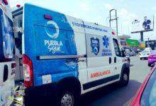 Choque, camioneta, ambulancia, SUMA, mujer, teléfono celular, distracción, sirena, emergencia, paramédicos, lesionados, lesionada, testigos, aseguradoras, Colonia El Cerrito