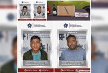 SSPTM, detenidos, robo a comercio, Ministerio Público