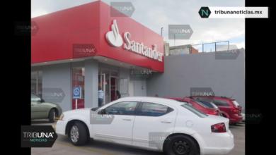 Asalto, cuentahabiente, Santander, 40 mil pesos, armas de fuego, fuga, Policía Estatal, Fiscalía General del Estado
