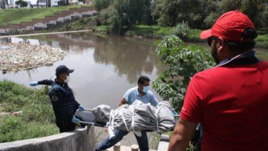 Protección Civil Municipal, rescate, canal de aguas negras, río Atoyac, cadáveres