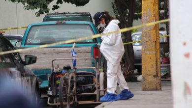 cadáver, abandonado, triciclo, televisor viejo, bolsa, colhoneta, Policía Municipal, 911, muñeca, sangre, móvil del crimen, Mercado Defensores de la República
