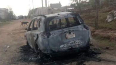 vehículo, quemado, detonaciones, arma de fuego, jóvenes, Vecinos Alerta, mujer, reclamo, hijo,SSP, Calle Alchichica, Amozoc, Policía Municipal