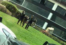 sujetos, disparos, detonaciones, armas de fuego, Telcel, Lomas de Angelópolis, Plaza Sonata, Policía Municipal, San Andrés Cholula