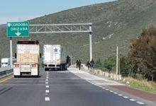 Automovilistas, grupo armado, robo, camión de carga, Puebla-Orizaba, tráiler, encapuchados, armas de fuego, redes sociales, Tecamachalco, autopista Puebla-Córdoba, detergente, La Policía Federal