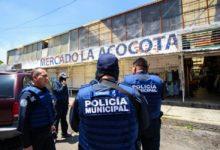 Operativo, GRUCOPA, Mercado Carmen Serdán, La Acocota, piratería, FGE, marihuana, heroína, cristal, Ministerio Público, delitos contra la salud, SEDENA, SSPTM, SSP, SEGOM
