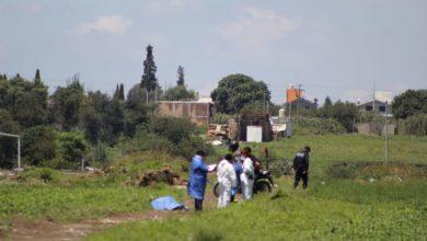 impactos de bala, cabeza, manos amarradas, cadáver, Coronango, Policías municipales, tortura, maniatado, Fiscalía General, peritos, Policía Ministerial, combustible, robo