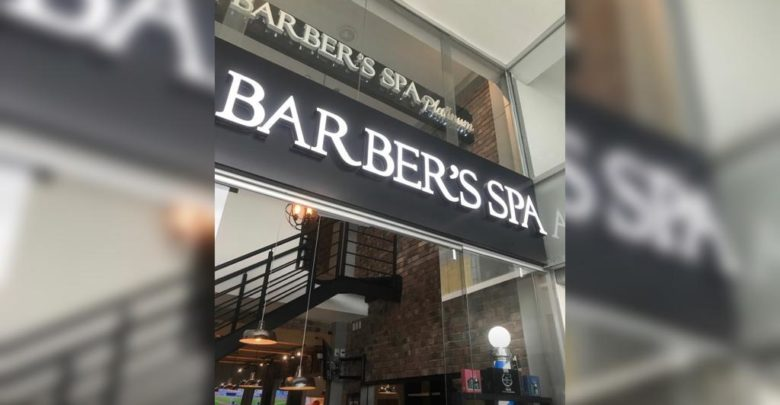 Barbería, Plaza Mazarik, asalto, cliente, corte de pelo, mano armada, pistola, arma de fuego, amagar, clientes, trabajadores, entrada, fuga, vehículo, redes sociales, video