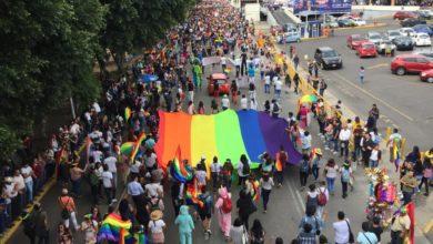 Asuntos Internos, SSPTM, queja, denuncia, impedimento, libre tránsito, LGBTTTI, orgullo, Zócalo, Ciudad de Puebla, movilización