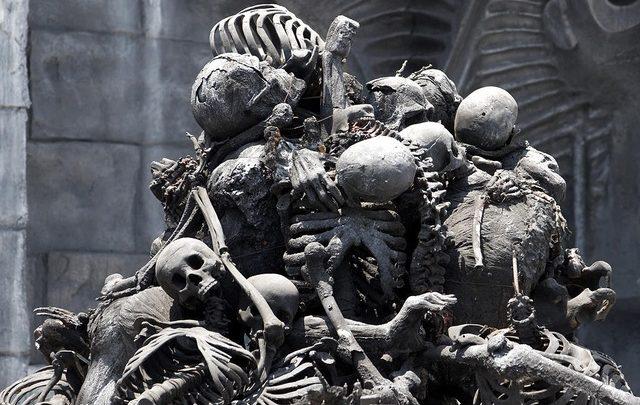 Cadáver, cráneo destrozado, Tepeaca, San Nicolás Zoyapetlayoca, Hueyotlipan, Fiscalía General del Estado, anfiteatro, exámenes de rigor, rostro, cabeza,