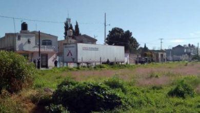 Amozoc, Ejército Mexicano, Policía Municipal, contenedor, mercancía, reporte de robo, Barrio de San Antonio