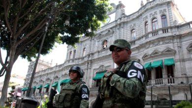 Guardia Nacional, detenidos, Atlixco, foco rojo, Santa Cruz Reforma, ataque