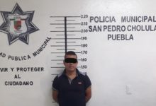 robo de vehículo, detenido, San Pedro Cholula, Guardia Turística, FGE, Ministerio Público