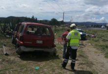 personas muertas, heridos, volcadura, Puebla-Orizaba, camioneta, lesiones, paramédicos, Capufe, peritajes, Policía Federal, ponchadura, neumáticos