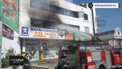 Comunidad Cristiana, 32 Poniente, Bulevar 5 de Mayo, Colonia Santa María, tanque de gas, fuga, incendio, Bomberos, Protección Civil,