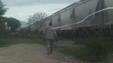 Barricadas, Tepeaca, bultos de cemento, mercancía, Cemex, tren, Policía Municipal, Policía Auxiliar, Ejército Mexicano