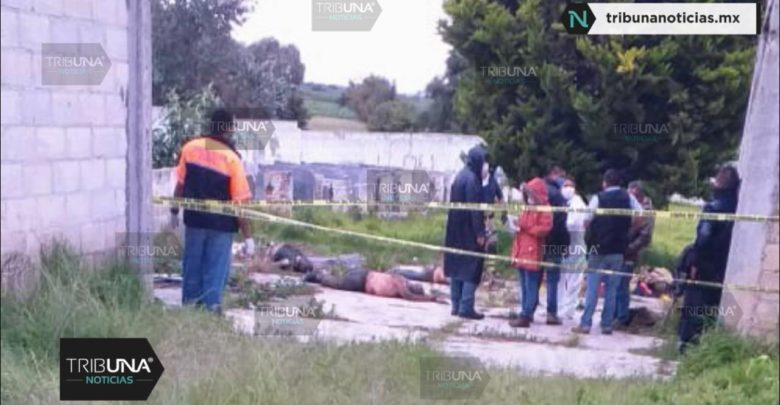 Pozo, cadáveres, Huejotzingo, Santa María Tianguistenco, FISDAI, funcionario estatal, reporte de robo, El Chango, grupo criminal