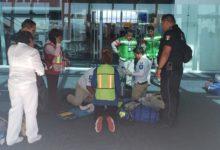 Vuelo, Campeche, Ciudad de México, aeropuerto, Hermanos Serdán, problemas respiratorios, paramédicos, SUMA, Hospital General de Huejotzingo