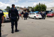 Santa María Xonacatepec, Policía Municipal, revisión, golpeado, detenido, SSPTM